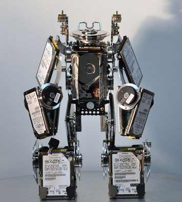 robot ổ cứng