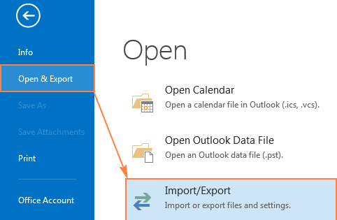email outlook 2016