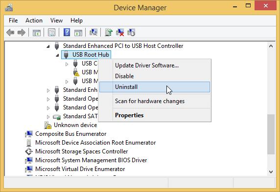 sửa lỗi USB không nhận