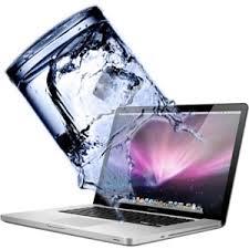 laptop bị dính nước