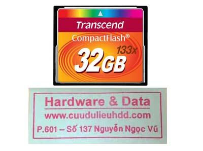 khôi phục dữ liệu thẻ 32GB