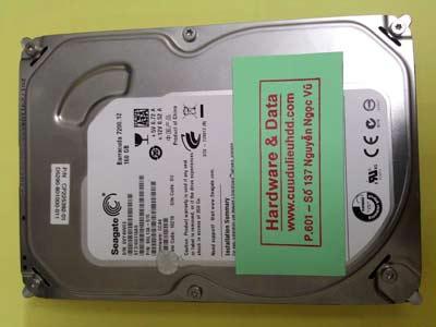 cứu dữ liệu Seagate 160GB