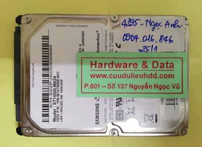 khôi phục dữ liệu ST1000LM024