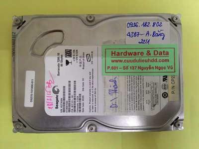 lấy lại dữ liệu Seagate 80GB