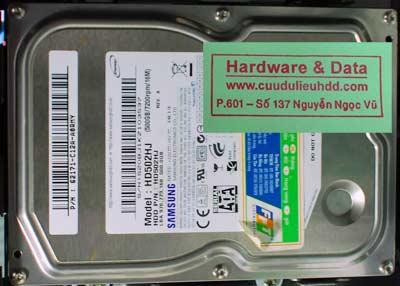 phục hồi dữ liệu HD502HJ