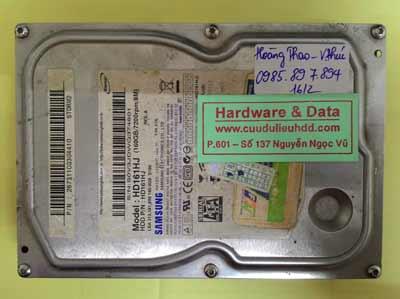 lấy lại dữ liệu HD161HJ