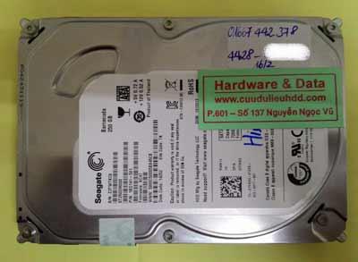 khôi phục dữ liệu Seagate 250GB