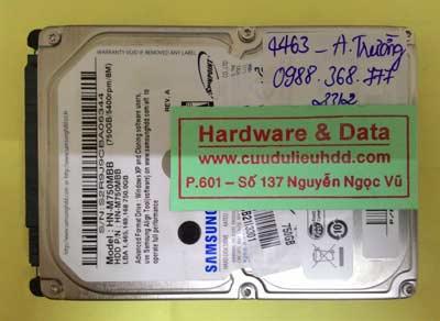 khôi phục dữ liệu HM750MBB
