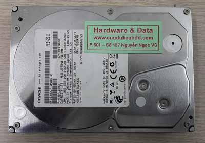 Khôi phục dữ liệu hitachi 1TB
