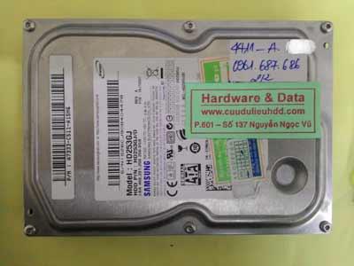 khôi phục dữ liệu HD253GJ