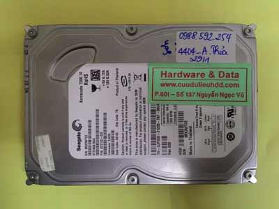 khôi phục dữ liệu Seagate 160GB