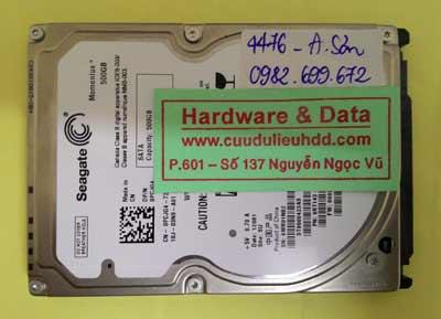 Khôi phục dữ liệu T9500423AS