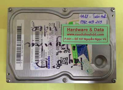 lấy lại dữ liệu HD083GJ