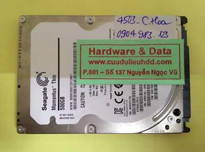 Phục hồi dữ liệu ST500LT012