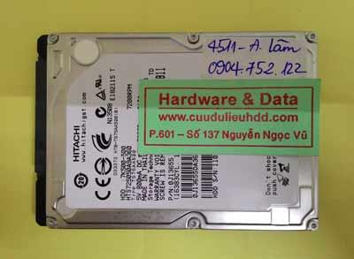 Khôi phục dữ liệu HTS725050A9A3