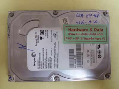 Phục hồi dữ liệu Seagate160GB