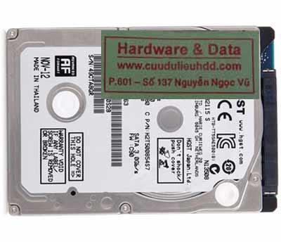 lấy lại dữ liệu hitachi 500GB