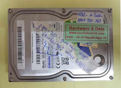 lấy lại dữ liệu HD161GJ