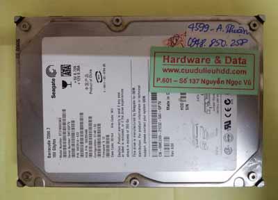 khôi phục dữ liệu Seagate160GB