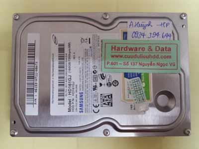 Khôi phục dữ liệu HD161GJ