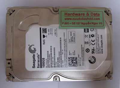 phục hồi dữ liệu Seagate 1TB