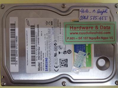 Phục hồi dữ liệu HD161GJ
