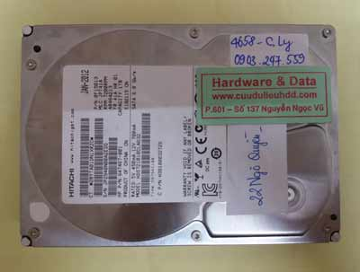 lấy lại dữ liệu HDS721010CLA632
