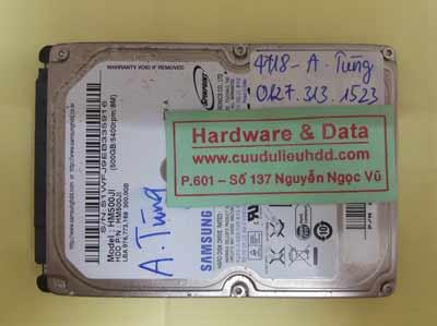 khôi phục dữ liệu HM500JI