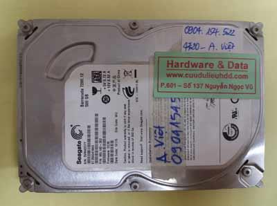 Phục hồi dữ liệu Seagate 500GB