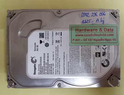 khôi phục dữ liệu ST500DM000