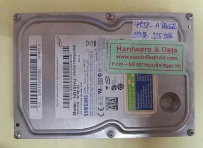 phục hồi dữ liệu HD161HJ