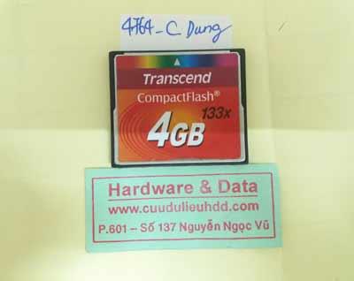 phục hồi dữ liệu thẻ 4GB