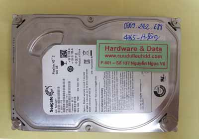 Lấy lại dữ liệu Seagate 320GB
