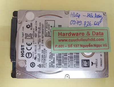 khôi phục dữ liệu HTS725032A7E630