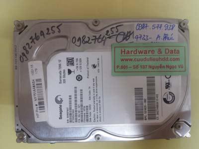 phục hồi dữ liệu Seagate 320GB