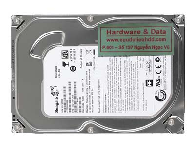 khôi phục dữ liệu ST250DM000