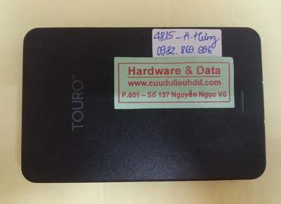 cứu dữ liệu box Touro 500GB