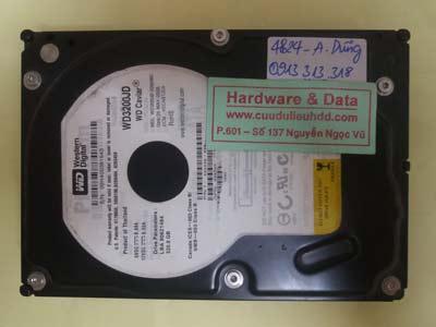 khôi phục dữ liệu WD3200JD