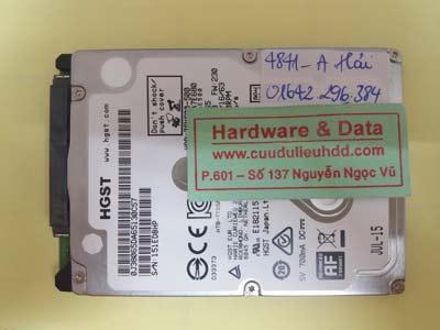 lấy lại dữ liệu HTS545050A7