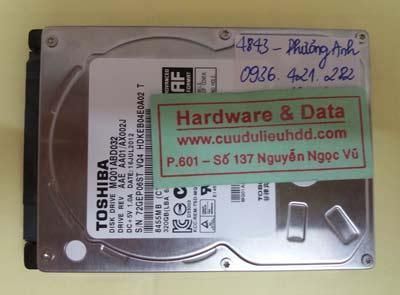 khôi phục dữ liệu MQ01ABD032