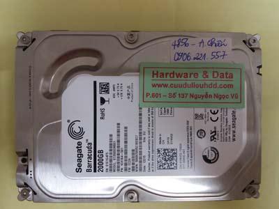 phục hồi dữ liệu ST2000DM001
