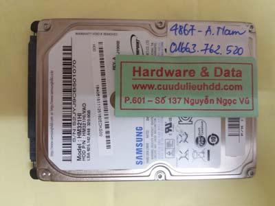 khôi phục dữ liệu HM321HI