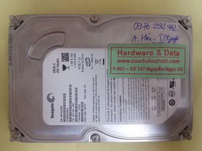 cứu dữ liệu Seagate250GB