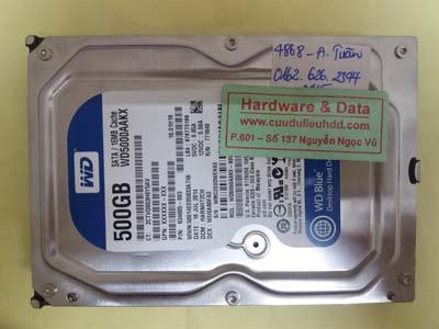 khôi phục dữ liệu WD5000AAKX