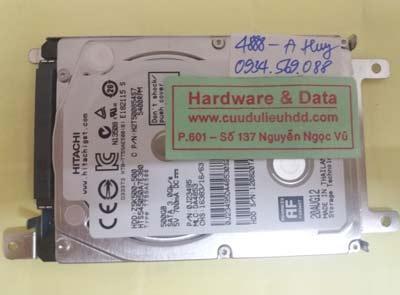 cứu dữ liệu HTS545050A7E380
