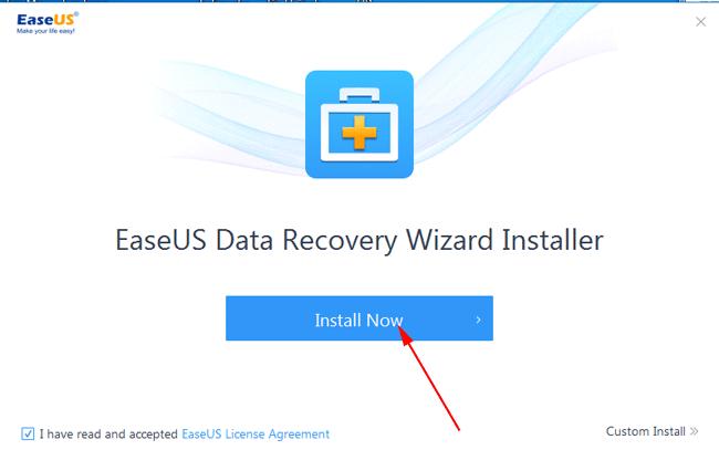 Hướng dẫn cài đặt EaseUS Data Recovery