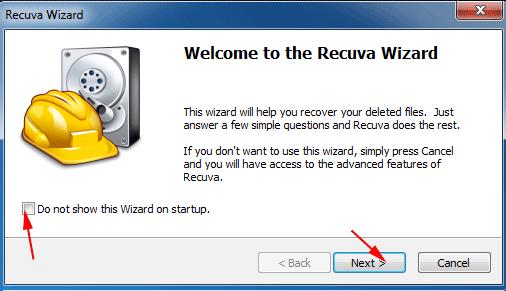 khôi phục dữ liệu ổ cứng đã xóa bằng Recuva