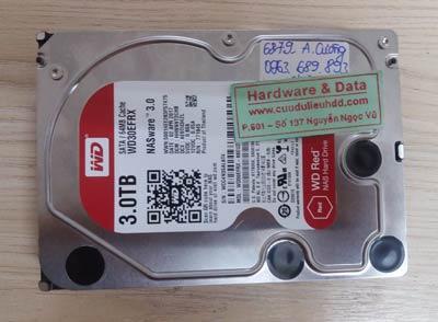 phục hồi dữ liệu ổ cứng Western 3TB