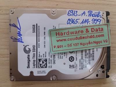 Cứu dữ liệu Seagate 500GB