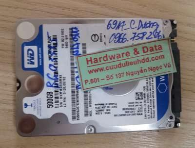 Lấy lại dữ liệu Western 500GB